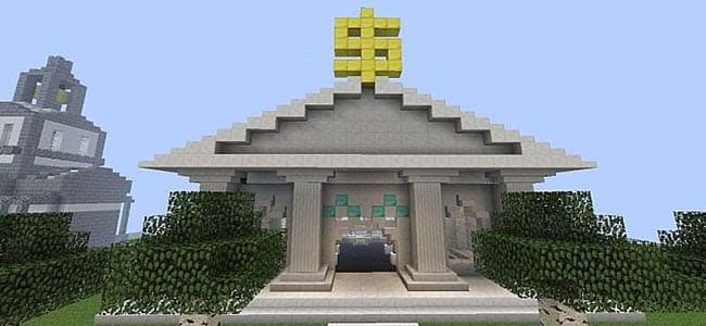 Minecraft Bank and Vault