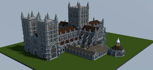 Cathedral Church Ideas in Minecraft