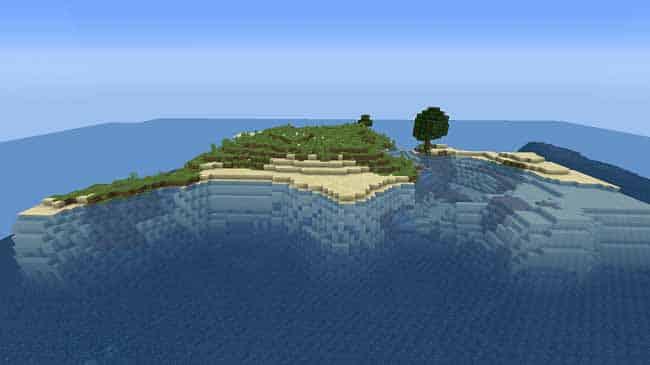 Minecraft Survival Island Challenge