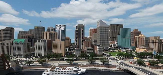 Minecraft Modern City