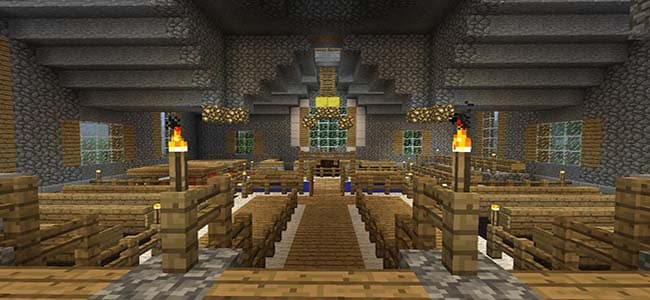 Courthouse in Minecraft