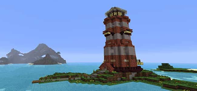 Building a Lighthouse in Minecraft