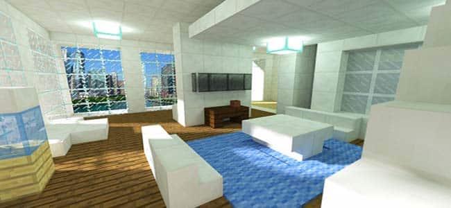 Minecraft Penthouse Suite
