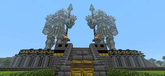Statues in Minecraft