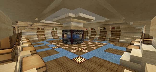 Minecraft Chest Storage Room Designs