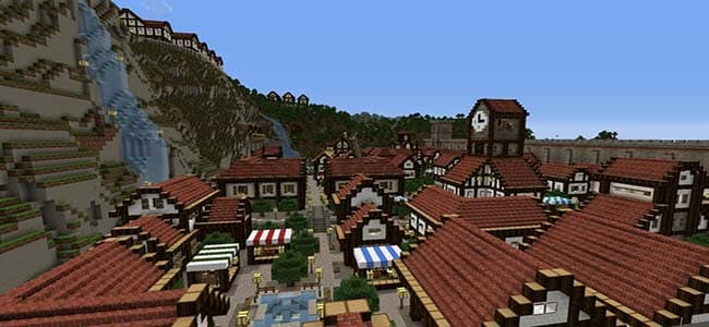 Town Building Ideas for Minecraft