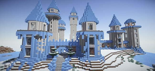 Frozen Minecraft Building Style