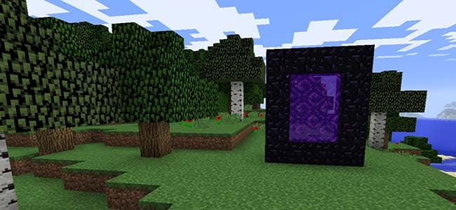 Minecraft Nether Portal Design
