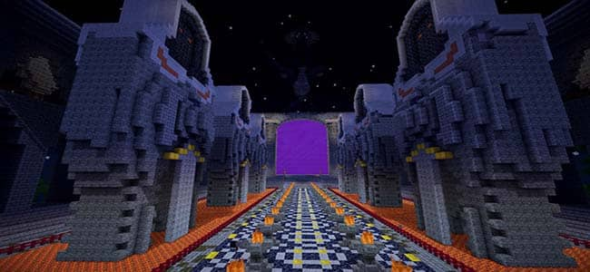 Large Outdoor Nether Portal