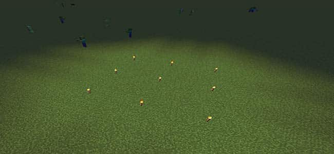 Stop Mob Spawning in Minecraft with Torches