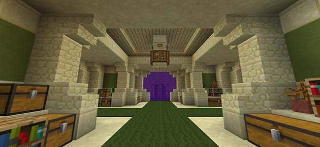 Nether Portal in a Storage Room