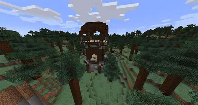 minecraft pillager outpost 1.14 update