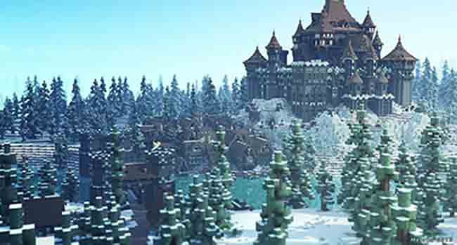 winter castle ideas