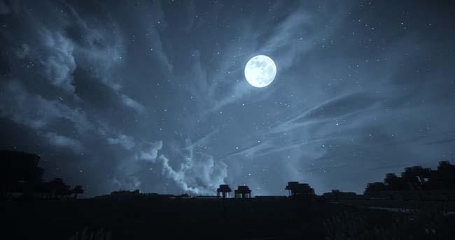 dramatic skies minecraft
