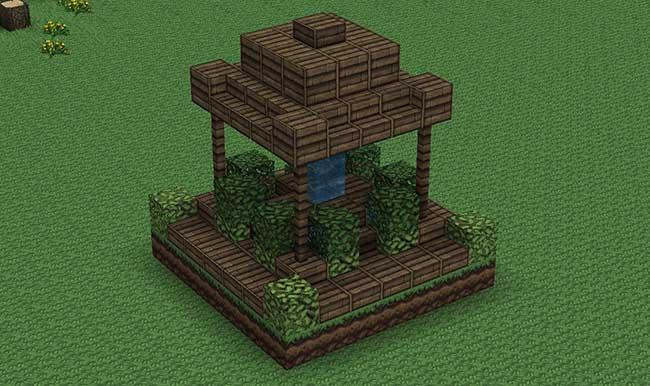 Small Wooden Fountain