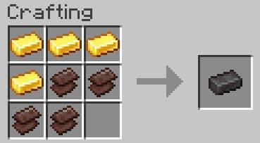 how to craft netherite ingot in Minecraft