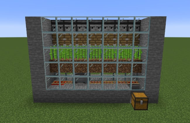 Minecraft Automatic Farm Eggs and Chicken