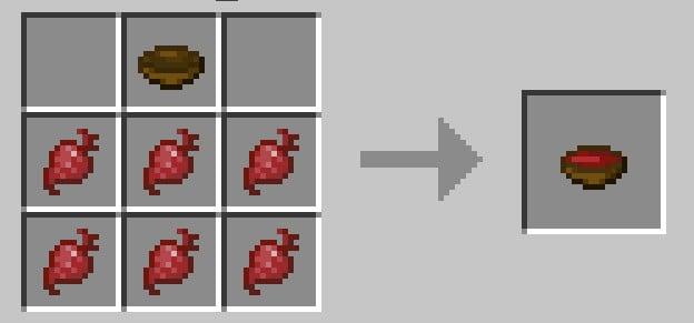 Minecraft Beetroot Soup Recipe