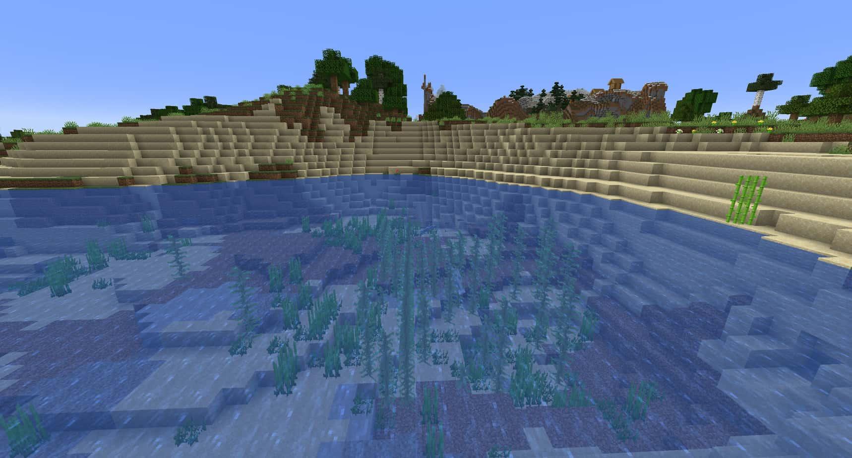 Minecraft Beach