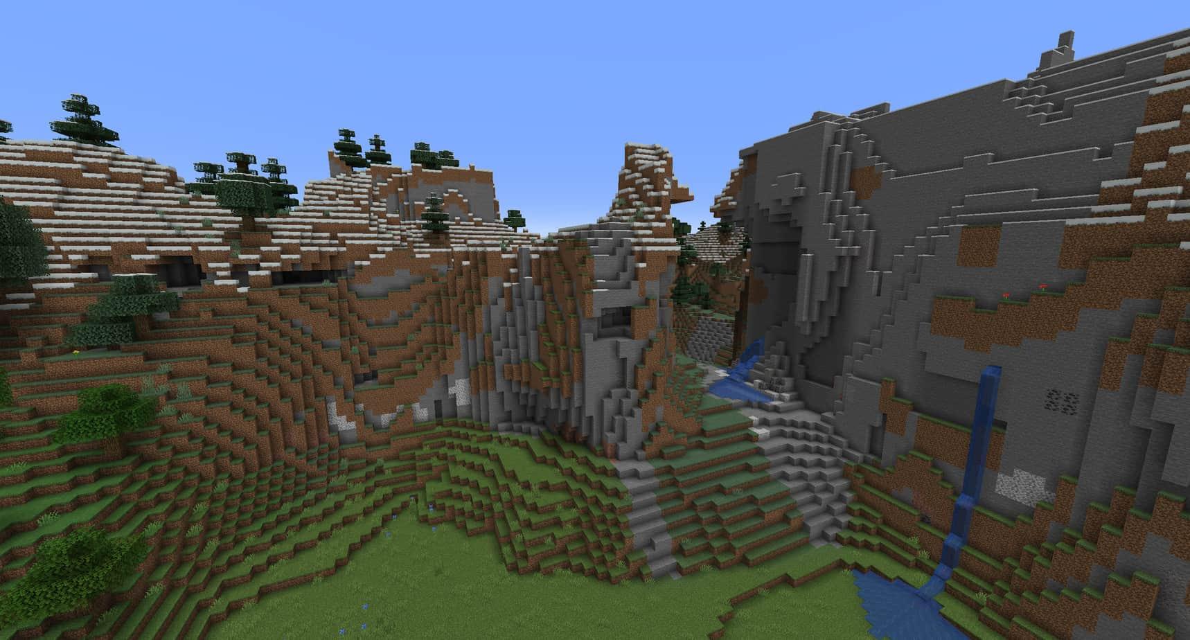 Minecraft Biomes Mountains